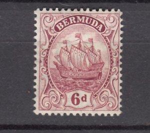 J26615  JLstamps 1910-24  bermuda mh #47 wmk 3 ship light small # on reverse
