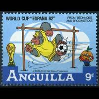 ANGUILLA 1979 - Scott# 497 Disney-Pooh 9c NH