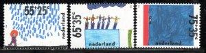 Netherlands Scott # B641 - B643, mint nh