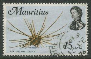 STAMP STATION PERTH Mauritius #344 Sea Life Definitive  Issue FU 1969