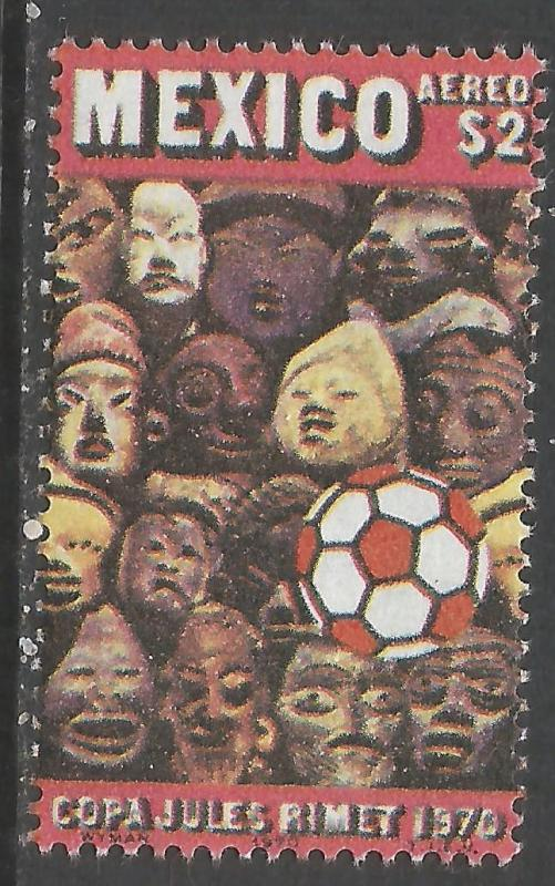 MEXICO C373 MNH WORLD CUP 986B-3