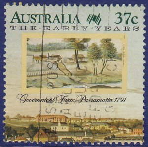 Australia - 1988 - Scott #1031b - used - Bicentennial Government Farm