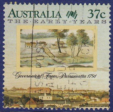 Australia - 1988 - Scott #1031b - used - Bicentennial Government Farm