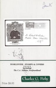 Firby:    Worldwide Stamps & Covers Including The C.A. St...