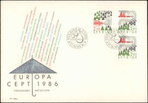 Sweden, Worldwide First Day Cover, Europa