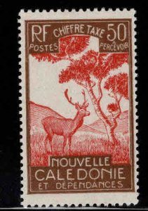 New Caledonia (NCE) Scott J27 MH* postage due stamp