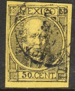 MEXICO-Veracruz 62, 50¢ 2-71 USED THICK FIGURES W/DOT. XF. (191)