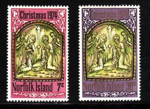 Norfolk Island 179-180 - FVF MNH