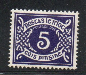 Ireland Sc J10 1943 5d Royal Purple Postage Due stamp mint