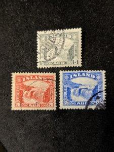 Iceland 170-2 F-VF, CV $17.35
