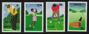 Kenya Golf 4v SG#642-645