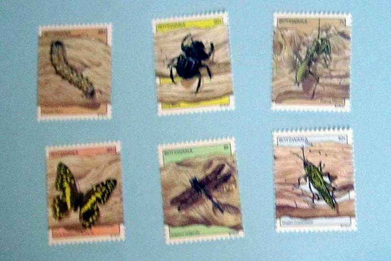 Botswana - 268-73, MNH Set. Dragonfly, etc. SCV - $5.60