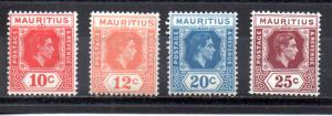 Mauritius 215-218 MH