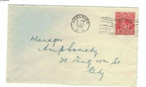 APH1480) Australia 1931 2d Red KGV Die I Small Cover