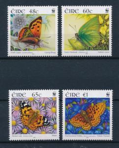 [53946] Ireland 2005 Butterflies Schmetterlingen Papillons WWF  MNH