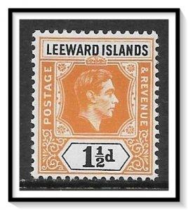 Leeward Islands #122 KG VI MH