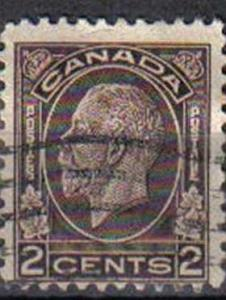 CANADA, 1932, used 2c. brown, King George V . Issued 1 December 1932