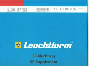 Lighthouse Leuchtturm Supplement N25 SF 05 Liechtenstein