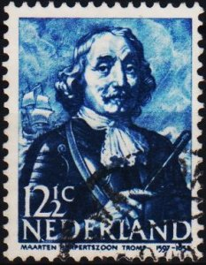 Netherlands. 1943 12 1/2c S.G.580 Fine Used