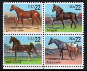 US 2158a Horses MNH VF