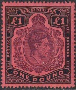 Bermuda 1938-1951 SC 128b Perf 14 MNH