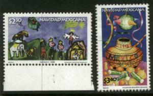 MEXICO 2107-2108, Christmas Season, 1998. MNH (69)