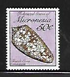 MICRONESIA, 95, MNH, TEXTILE SEASHELL