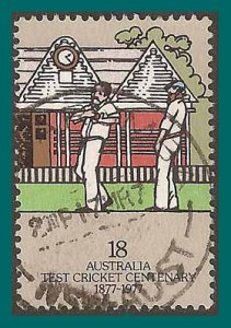 Australia 1977 Cricket Centenary, used  665,SG651