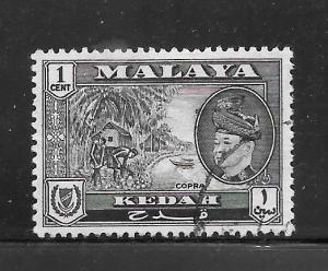 Malaya Kedah #83 Used Single