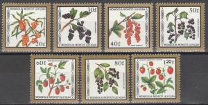 Mongolia #1584-90 MNH CV $5.55 (S6919)
