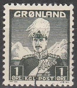 Greenland #1 F-VF Used  (S337)