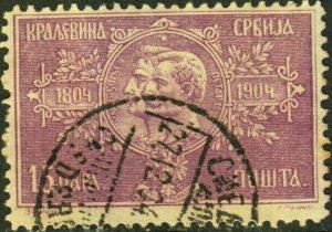 Serbia #81 Used