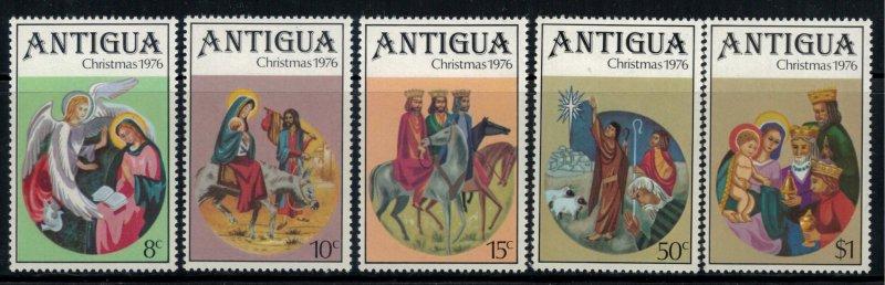 Antigua #448-52* NH CV $1.25