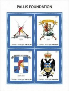 Z08 IMPERF ST190514d Sao Tome and Principe 2019 Pallis Historical MNH