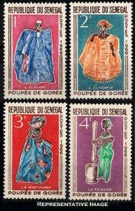 Senegal Scott 261-254 Mint never hinged.