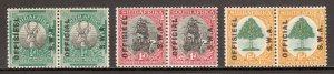 South West Africa - Scott #O9-O11 - MH - SCV $5.10