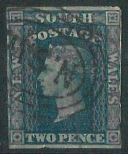 70305a- AUSTRALIA: New South Wales - STAMP: Stanley Gibbons # 110-114 - Used