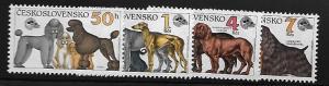 CZECHOSLOVAKIA 2796-2799 MNH C/SET DOG SHOW