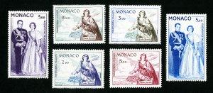 Monaco Stamps # C35-8 VF OG LH Catalog Value $74.75