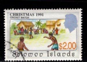 Solomon Islands #702 Christmas 1991 - Used