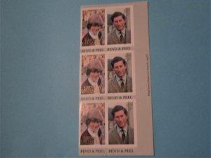 Grenada Grenadines - 444a - MNH Booklet Pane of 6. SCV - $2.25