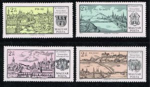 HUNGARY STAMP SEMI POSTAL MH/OG COLLECTION LOT 1971 National Stamp Exhibition
