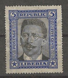 COLLECTION LOT # 4291 LIBERIA #217 UNG 1923 CV+$115