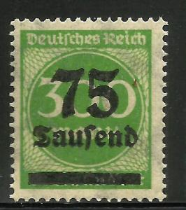 Germany 1923 Scott# 250 MNH