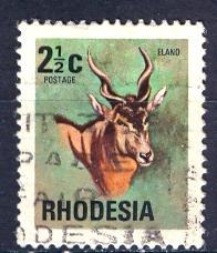 Rhodesia; 1974: Sc. # 329: O/Used Single Stamp