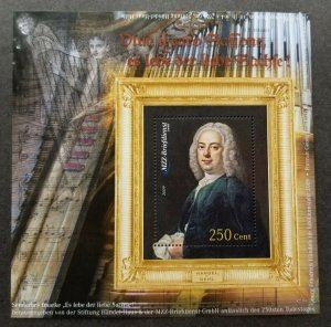 Germany Private Post MZZ Music 2009 Portrait Musician Musical Instrument (ms MNH