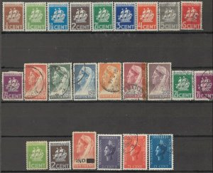 COLLECTION LOT OF #1763 SURINAM  24 STAMPS 1936+ CV + $24