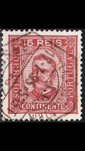 PORTUGAL [1892] MiNr 0068 xC ( O/used )