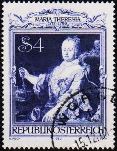 Austria. 1980 4s S.G.1869 Fine Used