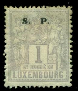 Luxembourg 1882 #O52 MH SCV(2018)=$0.25